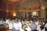 Vista general de los asistentes a la entrega de los Premios AGECU 2.004 en el Gran Casino de Terrassa.