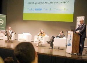II Foro Menorca ASCOME de Comercio