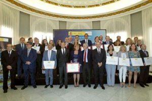 Acto de entrega de los Premios Nacionales de Comercio Interior 2014