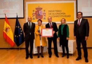 al Acto de entrega de los Premios Nacionales de Comercio Interior 2015
