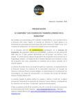 thumbnail of PRESENTACION CAMPAÑA MARATON Y VIDEO DEL 25 ANIVERSARIO