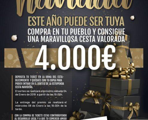 Esta Navidad, la ACEM «Ribera Baja del Genil» vuelve a repartir ilusión y premios