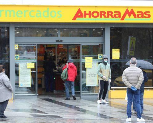Los supermercados absorben un alza de costes de hasta el 20% en el estado de alarma