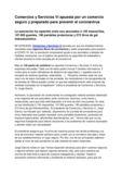 thumbnail of NP.20.05.20. Comercios y Servicios Vi apuesta por un comercio seguro y preparado para combatir el coronavirus