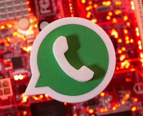 Subir la persiana en WhatsApp