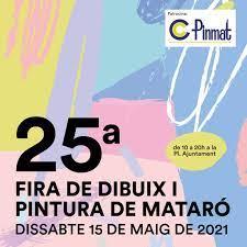 Torna la 25a Fira del Dibuix i Pintura de Mataró