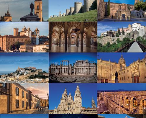 «Un viaje extraordinario» promocionará las 15 ciudades españolas Patrimionio de la Humanidad